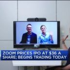 Tech companies Zoom, Pinterest begin trading today. Here's where they price their IPOs