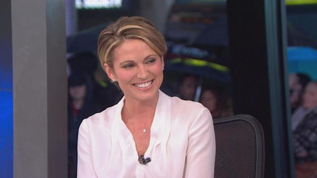 'GMA' Welcomes Amy Robach to Anchor Desk