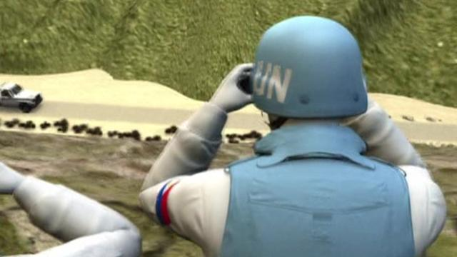 Filipino UN peacekeepers make daring escape from rebels in the Golan Heights