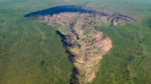 Huge 'doorway to the underworld' in Siberia just won't stop growing