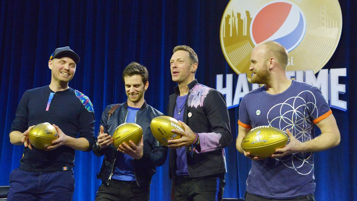Coldplay To Join Beyonce For Super Bowl Show