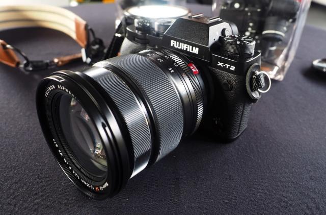 Fujifilm's X-T2 camera pairs a familiar design with 4K video