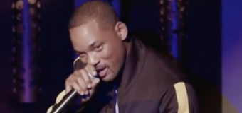 Will Smith tries stand-up with jokes about his family