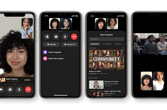 Facebook adds 'Watch Together' viewing parties to Messenger