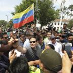 Marco Rubio warns Venezuelan soldiers to let aid enter