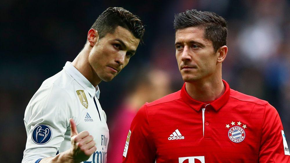 Foi com impedimento, mas C. Ronaldo mostrou para Lewandowski quem é decisivo