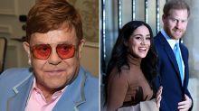 Elton John weighs in on Harry and Meghan's bombshell announement
