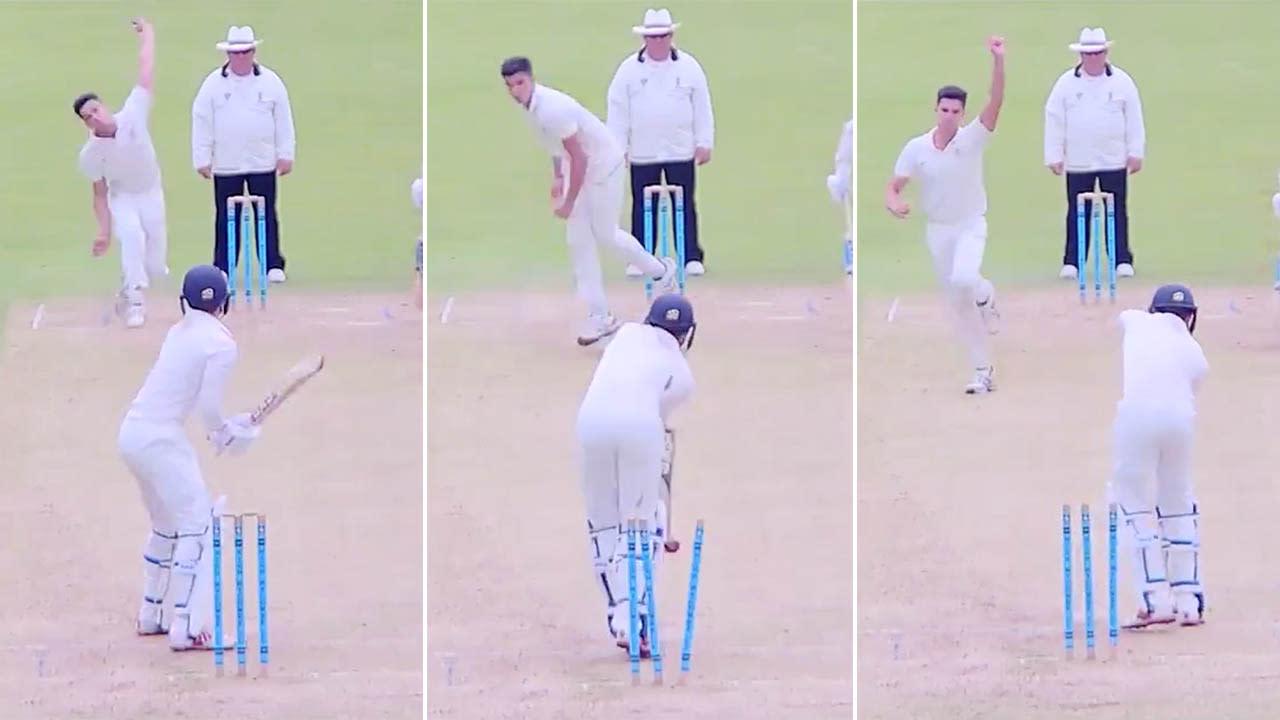 Son of Sachin: Arjun Tendulkar stuns cricket world with 'unplayable' ball