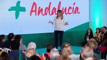 """Díaz dice que los líderes de PP y Cs """"no se fían"""" de sus candidatos en Andalucía"""