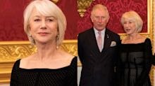 Helen Mirren rocks mesh dress at 72