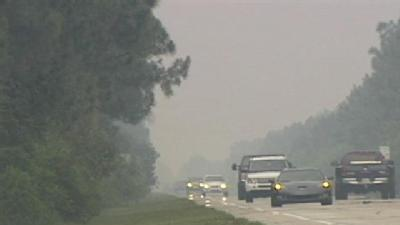 Smoky Conditions Take Toll On Fla. Residents