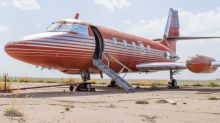 Elvis Presley's original luxury private jet to be auctioned