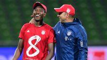 """Bayern-Verteidiger David Alaba lobt Trainer Hansi Flick: """"Das habe ich zuvor noch nicht gesehen"""""""