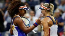 Naomi Osaka upsets defending US Open champ Angelique Kerber