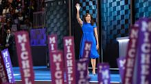 Michelle Obama Wears $995 Christian Siriano Dress for DNC Speech on American Greatness