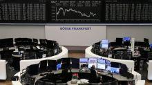 London stocks drag Europe lower as Glencore, oil stocks weigh