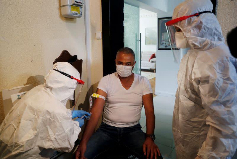 FILE PHOTO: Outbreak coronavirus disease (COVID-19) in Istanbul