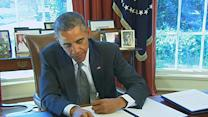 Obama Vetoes GOP Union Measure