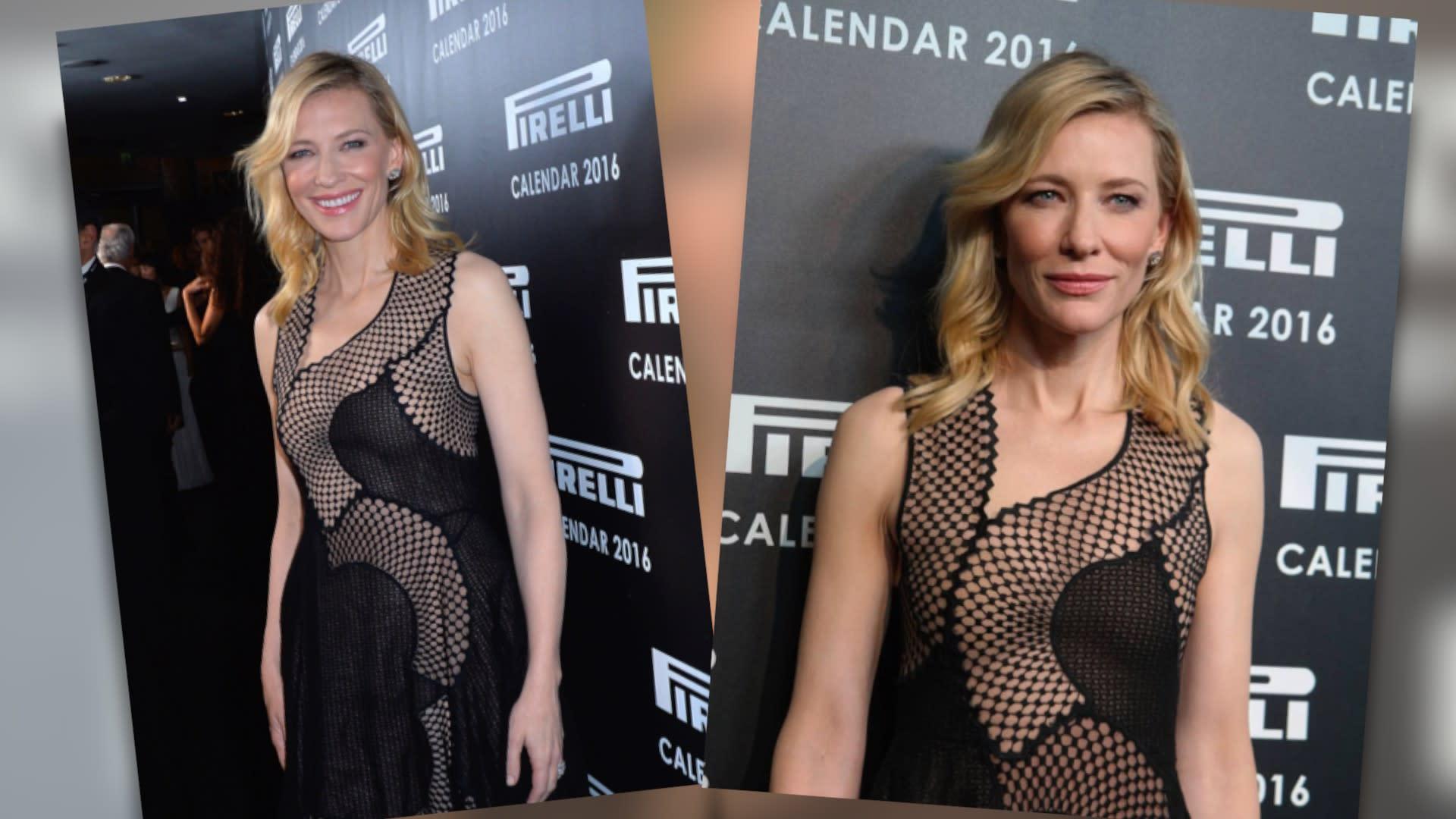 Cate Blanchett Juega Al Desnudo