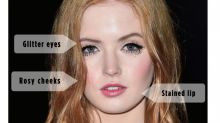 Ellie Bamber Brought Your Favorite Festival Beauty Trend to the Red Carpet