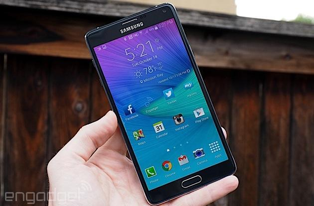 Samsung crams even faster LTE into the Galaxy Note 4