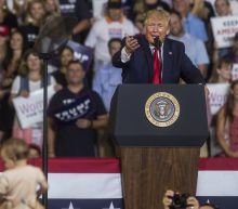 Trump Claims He's 'Not Happy' About 'Send Her Back' Rally Chant Based Off His Own Words