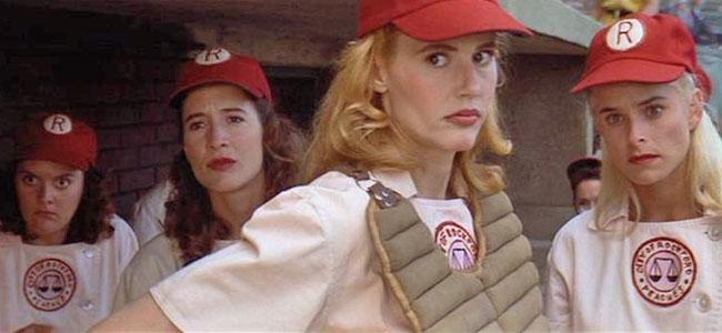 Geena Davis and Several Rockford Peaches Staged a 'League ...