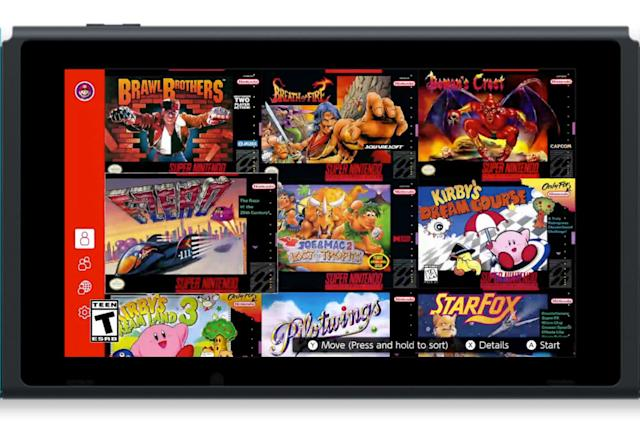 Nintendo won't deliver NES and SNES games to Switch on a regular schedule