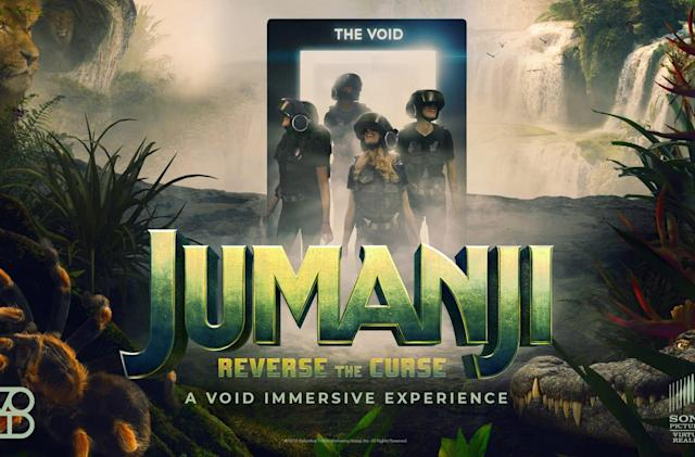 Sony's latest VR attraction will let you enter 'Jumanji'