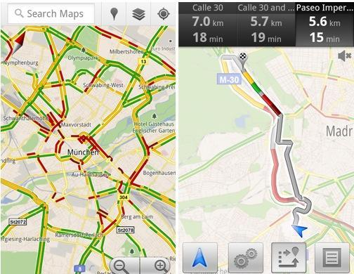 Google Maps brings live traffic coverage to 13 European countries, makes work weeks even shorter