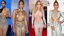J.Lo looked INCREDIBLE (and v naked) at her 50th birthday