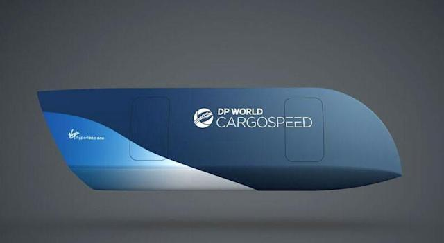 Hyperloop One and DP World launch a cargo-only shipping business