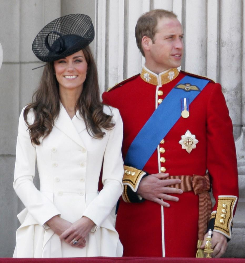 Kate and William were the picture of elegance at the 2011 Trooping the Colour ceremony for the Queen's birthday.