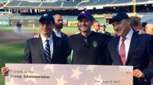 In wake of shooting, Trump gives $5,000 to Congressional baseball game charity