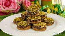 Pistachio Crunchy Cookies