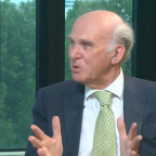 Vince Cable says he 'welcomes people with dark faces' as he condemns Nigel Farage's infamous referendum campaign