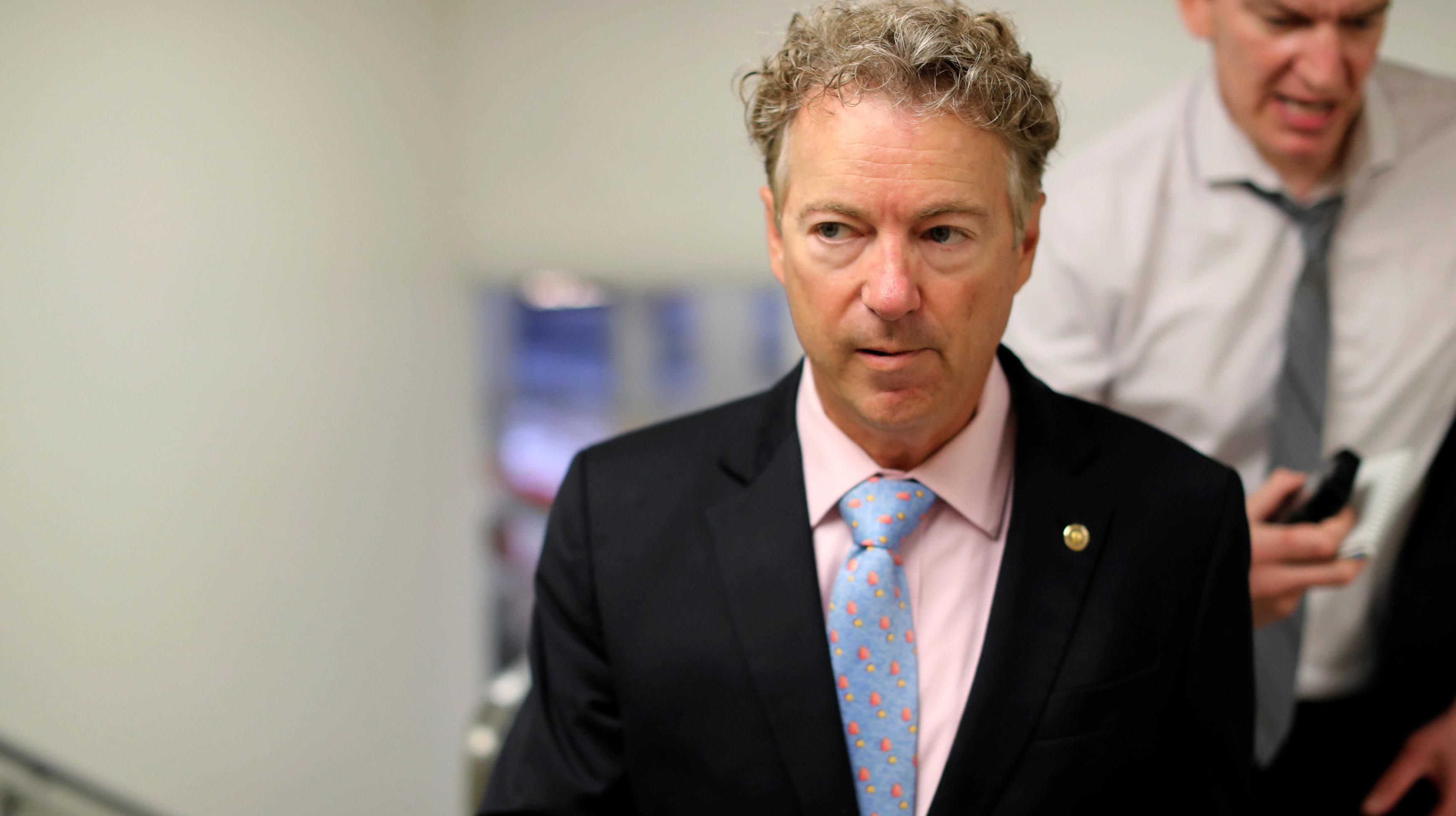 Rand Paul Says He's 'Concerned,' 'Worried' About Brett Kavanaugh's Privacy Views