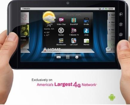 Dell Streak 7 launching at T-Mobile on February 2nd: $200 with two-year contract, $450 without