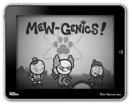 Mew-Genics is multi-platform, one of which is iOS