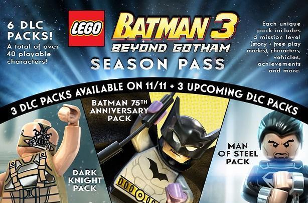 Lego Batman 3 goes beyond Gotham with DLC, season pass