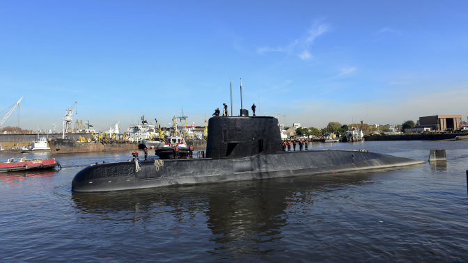 Mystery sounds in South Atlantic 'did not come from missing Argentine submarine'