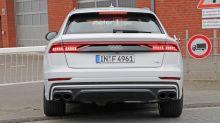 Audi SQ8 sounds fierce during Nürburgring test