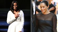 As Meghan Markle interviews Michelle Obama for British Vogue, we chart their relationship to date