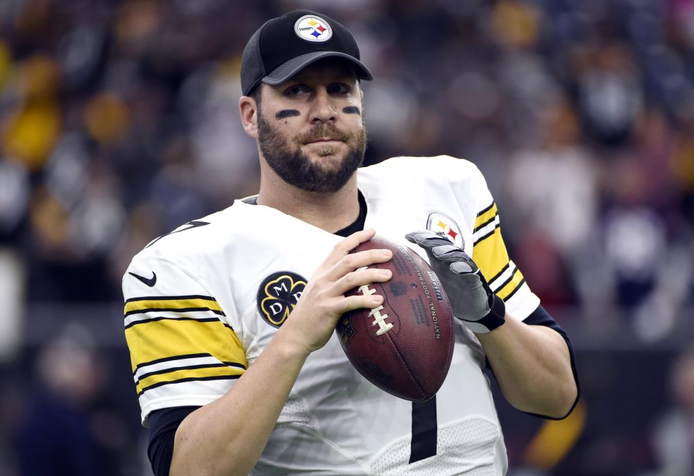 Pittsburgh Steelers quarterback Ben Roethlisberger returned for this season after contemplating retirement. (AP)