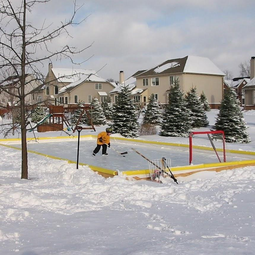 How to build your own backyard hockey rink