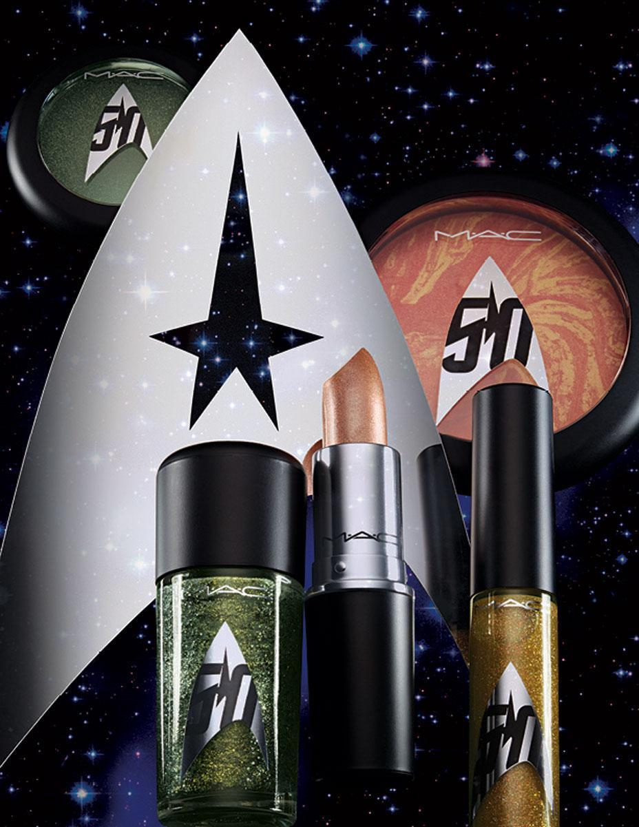 Mac Announces A Star Trek Makeup Collaboration 3 Complete Shades Of Limited Edition