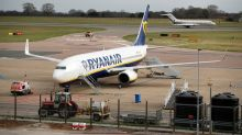 Ryanair to ground most if not all flights from March 24