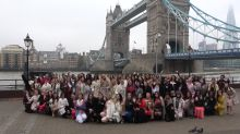Miss World participants arrive in London for photocall