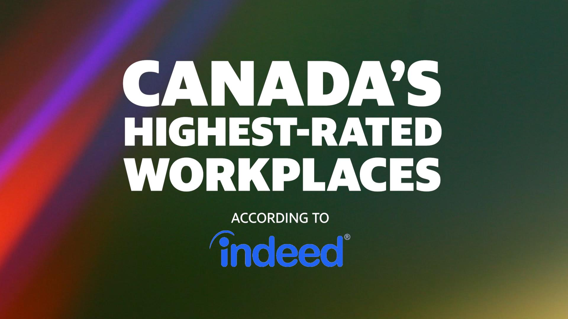 These are the best places to work in Canada