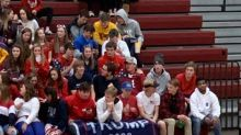 Teens incite controversy with 'Trump 2020' flag at high school basketball game: 'Please explain how and why this is appropriate'